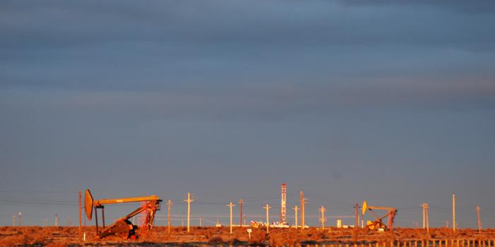 Actividad petrolera en San Jorge