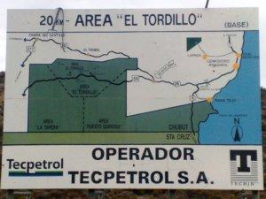 Acceso al Área El Tordillo, Comodoro Rivadavia