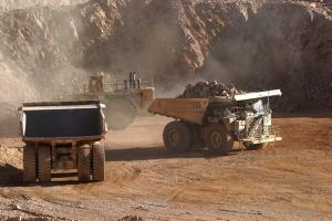 "(FILE) Photograph taken in March 2006 showing the copper mine ""La Esc"